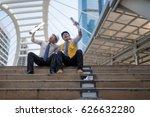 engineer group and worker... | Shutterstock . vector #626632280
