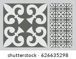 vintage antique design patterns ... | Shutterstock .eps vector #626635298