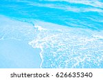 sea background blue water wave... | Shutterstock . vector #626635340