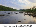 river in forest | Shutterstock . vector #626638349