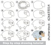 kid game to develop drawing... | Shutterstock .eps vector #626655014