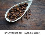 cloves     spices for health   ... | Shutterstock . vector #626681084