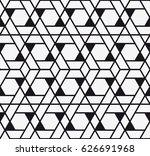 vector seamless pattern. modern ... | Shutterstock .eps vector #626691968