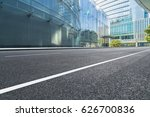 clean urban road with modern... | Shutterstock . vector #626700836