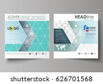 business templates for square... | Shutterstock .eps vector #626701568