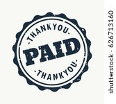 paid vector sign stamp design