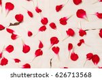 background on old paper from... | Shutterstock . vector #626713568