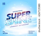 laundry detergent product...   Shutterstock .eps vector #626715380