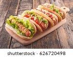 hot dog   Shutterstock . vector #626720498