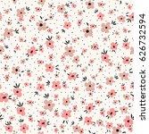 small flowers seamless pattern... | Shutterstock .eps vector #626732594
