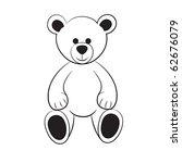 Bear Teddy.vector
