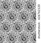 indian traditional pattern... | Shutterstock .eps vector #626762120