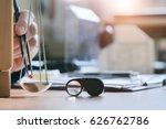 gemstones appraisal. gemologist ... | Shutterstock . vector #626762786