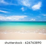 beach and tropical sea | Shutterstock . vector #626763890