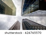 buildings with interesting... | Shutterstock . vector #626765570