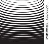 halftone radial pattern... | Shutterstock .eps vector #626772644