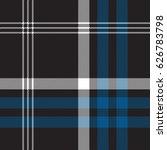 black check seamless fabric... | Shutterstock .eps vector #626783798