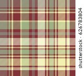 check plaid fabric texture... | Shutterstock .eps vector #626783804