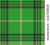 seamless plaid green tartan... | Shutterstock .eps vector #626783828