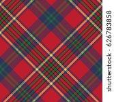 green red classic tartan check... | Shutterstock .eps vector #626783858