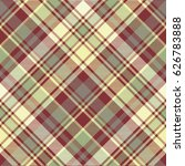 check plaid fabric texture... | Shutterstock .eps vector #626783888