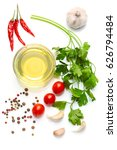 mediterranean food and drink... | Shutterstock . vector #626794484