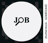job search logo. | Shutterstock .eps vector #626801660