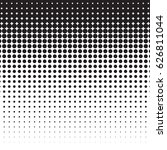 small dots halftone background. ... | Shutterstock .eps vector #626811044