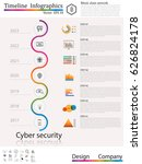 timeline infographic   business ... | Shutterstock .eps vector #626824178