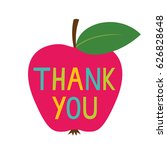 Thank You Teacher's Day Vector...