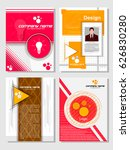 business template infographic... | Shutterstock .eps vector #626830280
