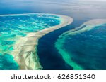aerial view of the great... | Shutterstock . vector #626851340
