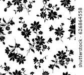 flower illustration pattern | Shutterstock .eps vector #626864558