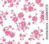 flower illustration pattern | Shutterstock .eps vector #626864570