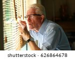 nosy neighbour checking on his... | Shutterstock . vector #626864678