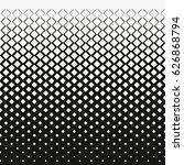 gradient of rhombus diamonds .... | Shutterstock .eps vector #626868794
