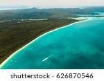 whitehaven beach  whitsundays | Shutterstock . vector #626870546