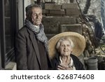 portrait of senior couple ... | Shutterstock . vector #626874608
