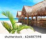 Beach On A Tropical Island