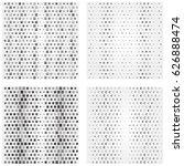 geometric texture pattern. art... | Shutterstock .eps vector #626888474
