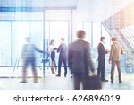 business people are standing... | Shutterstock . vector #626896019