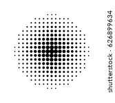 halftone circles  halftone dot... | Shutterstock .eps vector #626899634