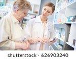 professional pharmacist...   Shutterstock . vector #626903240