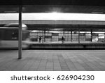 speed train on the way. blurry. ... | Shutterstock . vector #626904230
