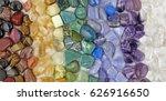 healing chakra crystals banner  ... | Shutterstock . vector #626916650