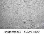 gray concrete wall with white... | Shutterstock . vector #626917520