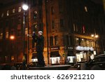 street musician perform on... | Shutterstock . vector #626921210
