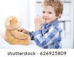 child  patient afrer health... | Shutterstock . vector #626925809