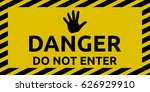 do not enter sign | Shutterstock .eps vector #626929910