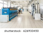 shop for the production of wire.... | Shutterstock . vector #626933450